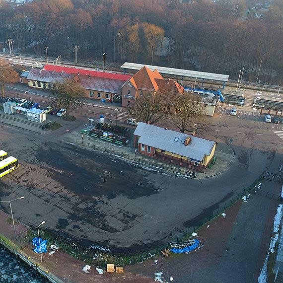 Dworzec kolejowy w Świnoujściu nie będzie modernizowany