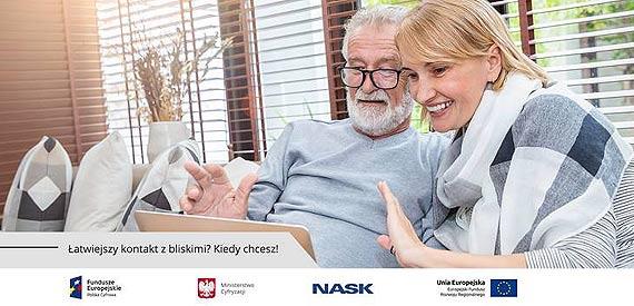Łatwiejszy kontakt z bliskimi? Kiedy chcesz! – e-Senior potrafi!