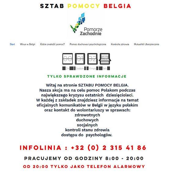 Rusza Sztab Pomocy Belgia