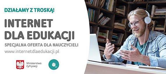Darmowy internet dla nauczycieli – współpraca z UPC Polska