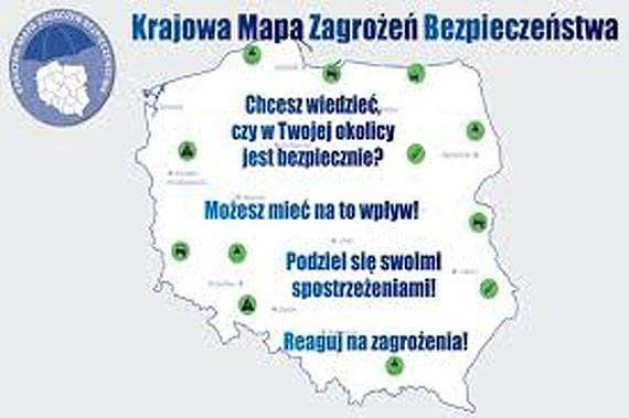 Ponad trzy lata funkcjonowania Krajowej Mapy Zagrożeń Bezpieczeństwa i blisko 40 tysięcy zweryfikowanych zgłoszeń
