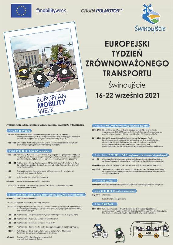 W Świnoujściu rozpoczyna się Europejski Tydzień Zrównoważonego Transportu